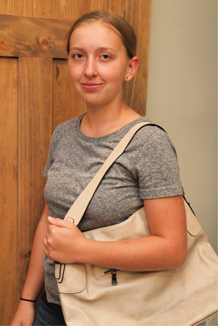KL928 Leather Shoulder Handbag