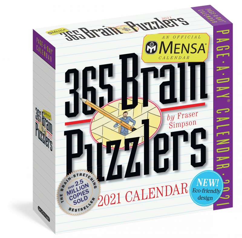workman publishing brain puzzlers