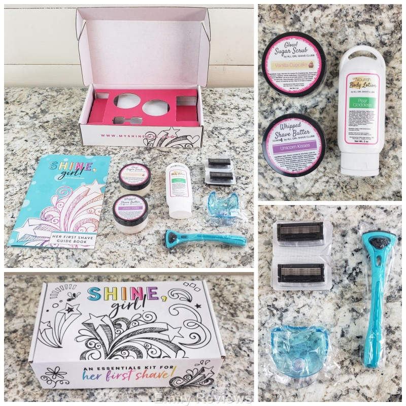 Girls Gifts, Teen Gifts, Teen Girls, Shaving Set, Girls Subscription Box