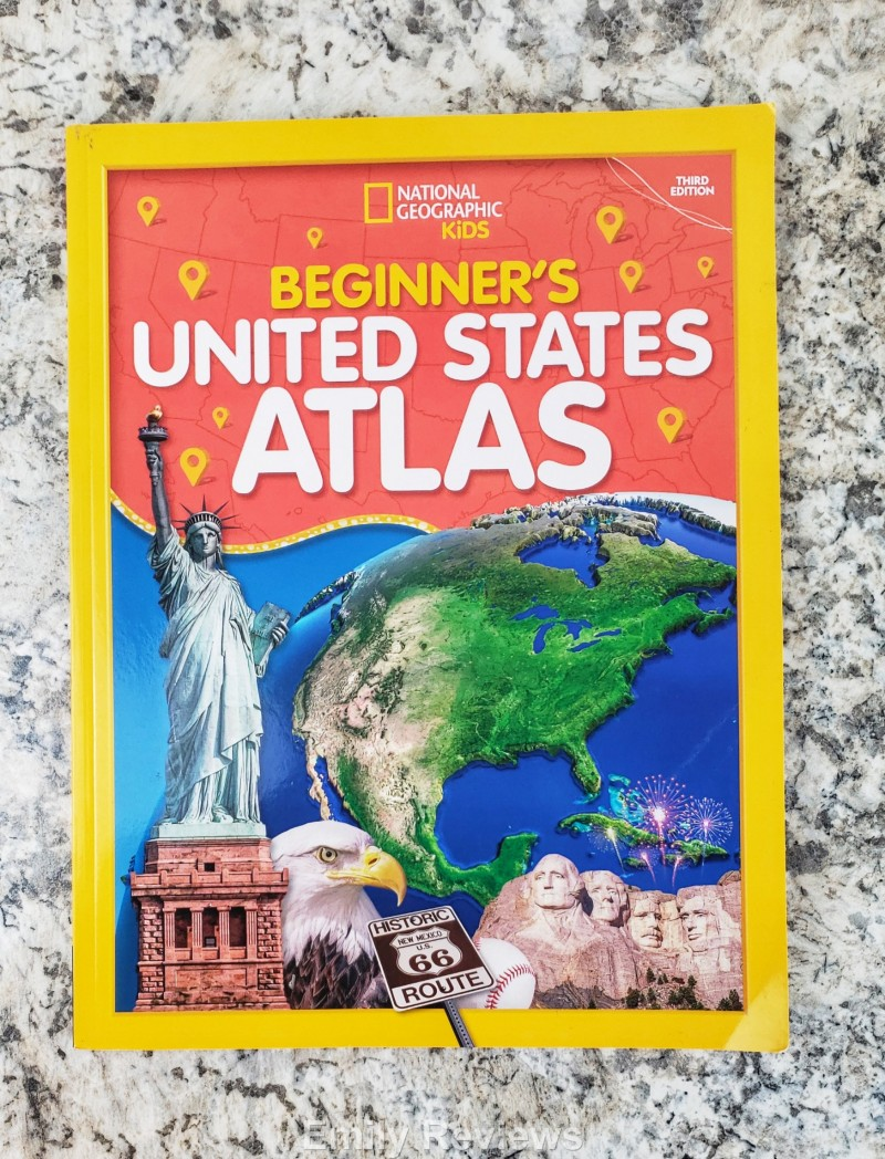National Geographic Kids, Beginners US Atlas, Educational Books, School Books, Home School