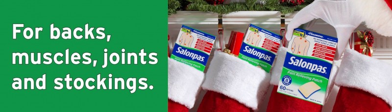 Salonpas Pain Relief Products Giveaway