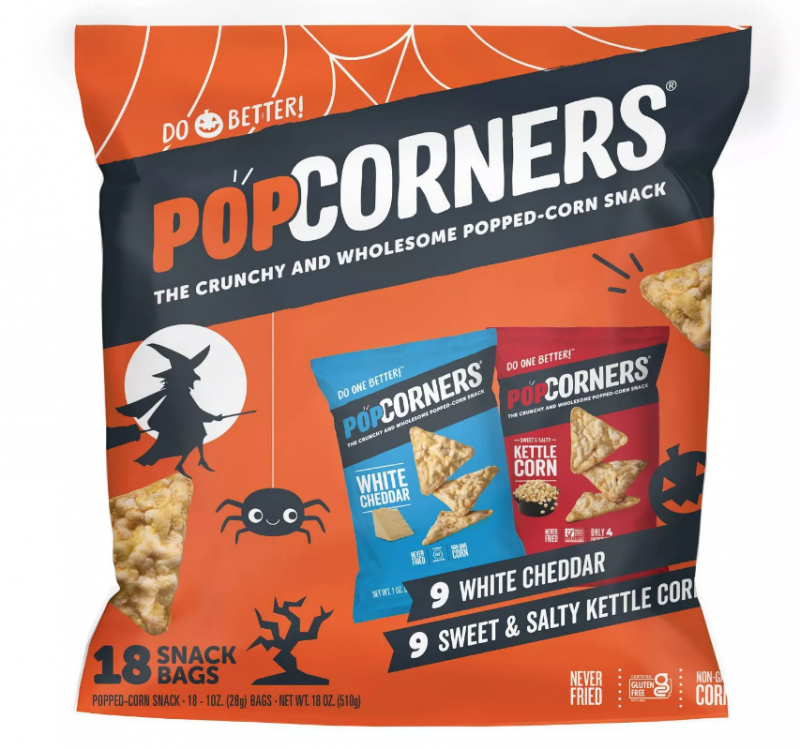 Give Out PopCorners For Halloween!