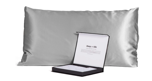 Fisher's Finery 100% Pure Mulberry Silk Pillowcase with Gift Box- 30 Momme
