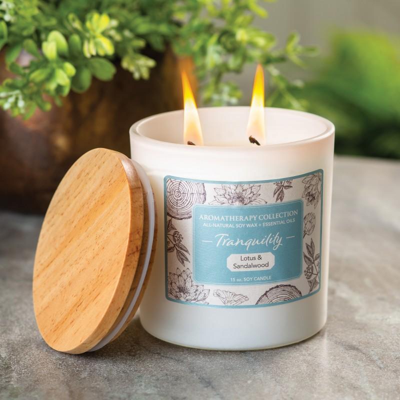 Aromatherapy candle