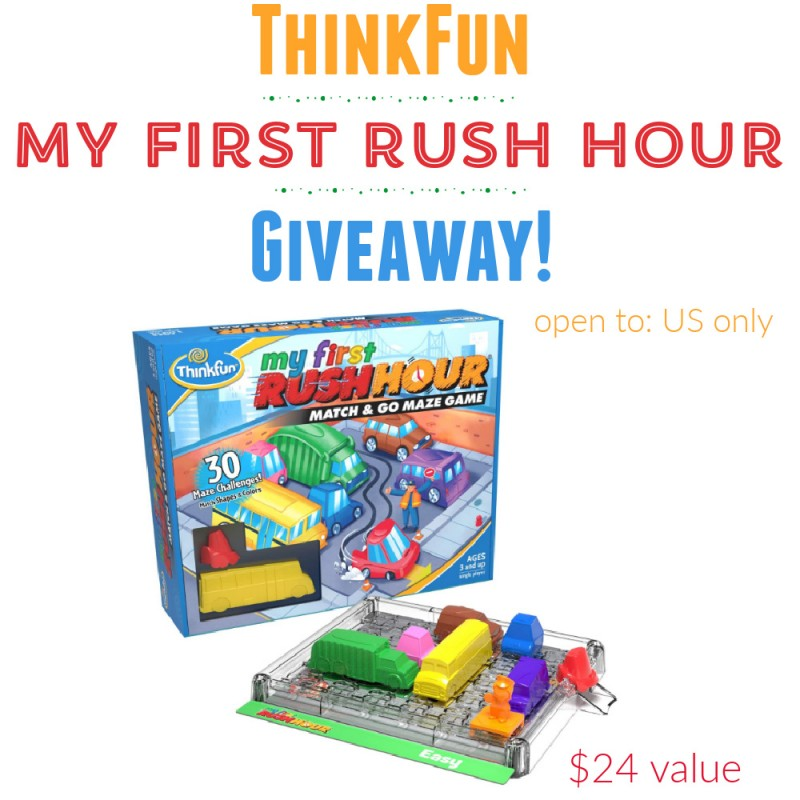 ThinkFun My First Rush Hour Game Giveaway