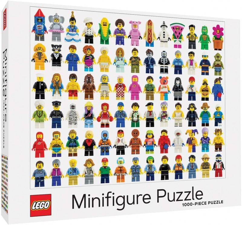 LEGO minifigure puzzle
