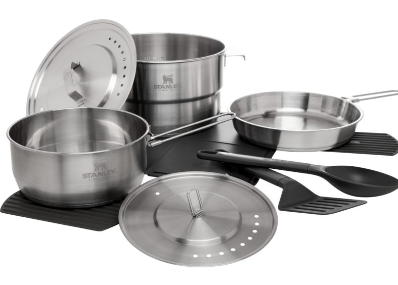 stanley camp pro cook set
