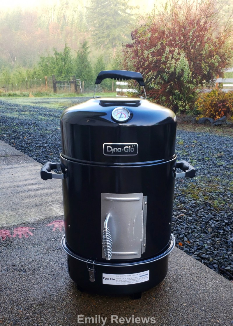 Compact Charcoal Bullet Smoker, BBQ, Grill, Smoker, Men's Gifts, Women's Gifts,