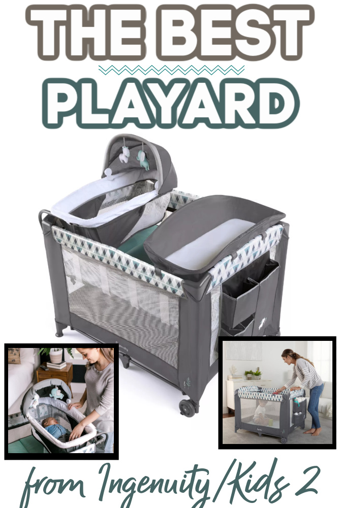 Ingenuity Smart and Simple Playard - Great Gift For New Moms!