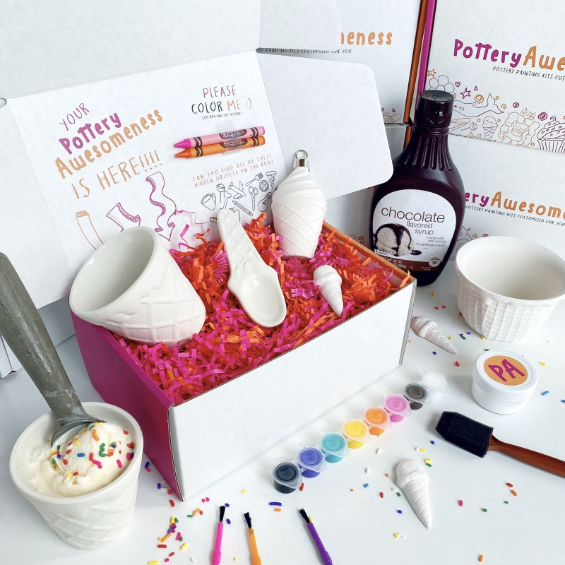 Pottery, Painting Kits, Kids Crafts