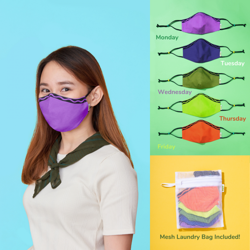 Crayola, Covid-19, Face Masks, School Masks