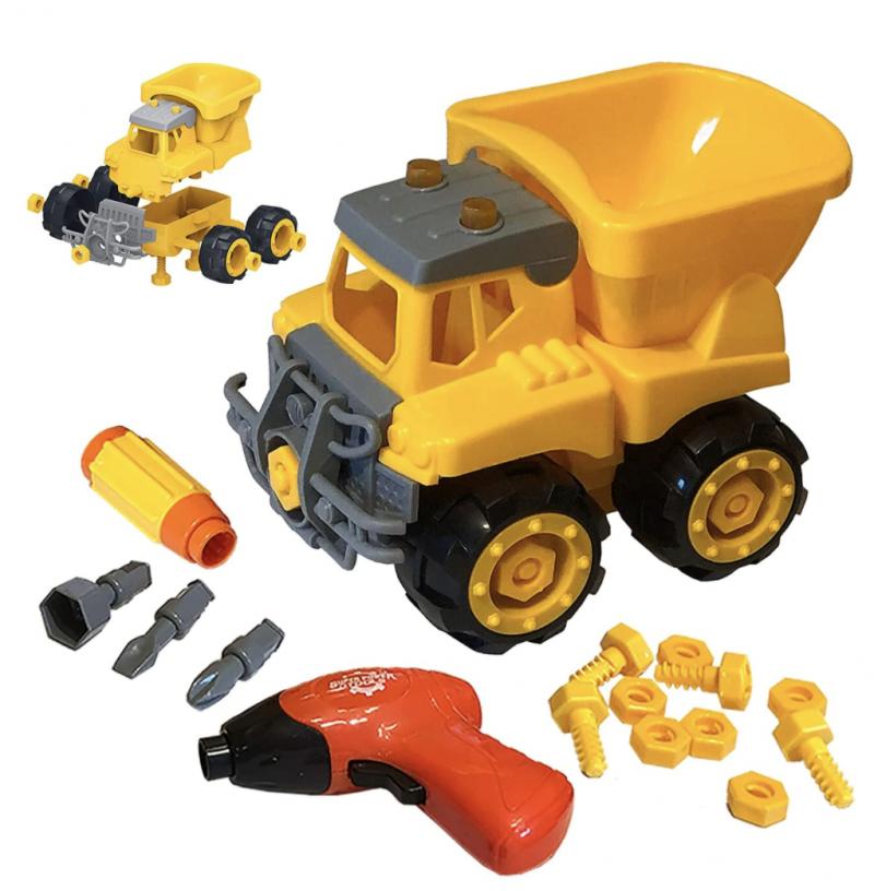 Funstruction Toys Take Apart Dump Truck