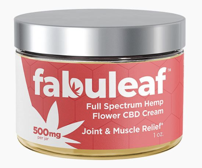 Fabuleaf Full Spectrum Hemp Flower CBD Cream
