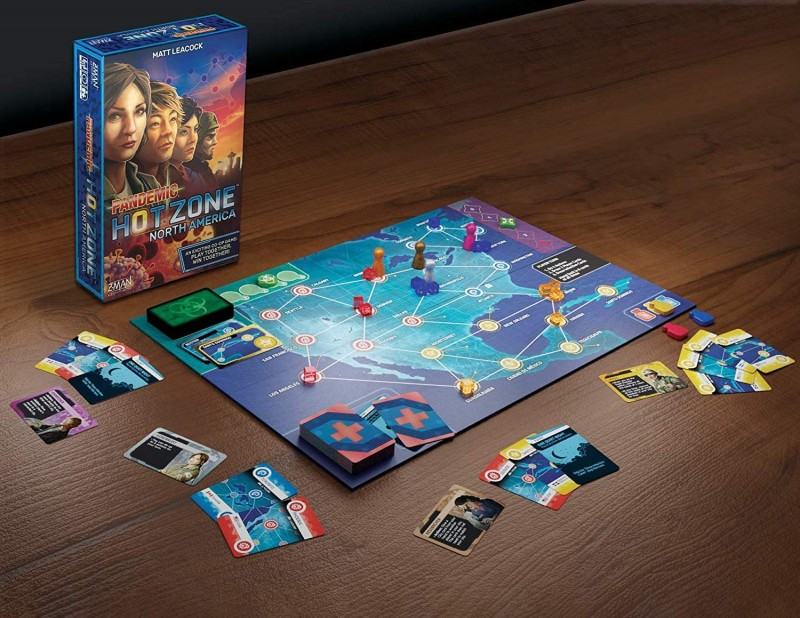 pandemic hot zone game