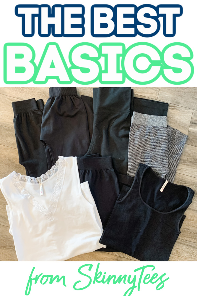 skinnytees - Give The Basics Everyone Wants & Needs This Christmas!