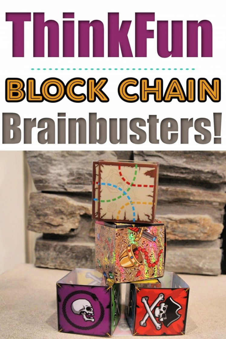 Block Chain Linked Brainteaser Cubes from ThinkFun (+ Giveaway!)