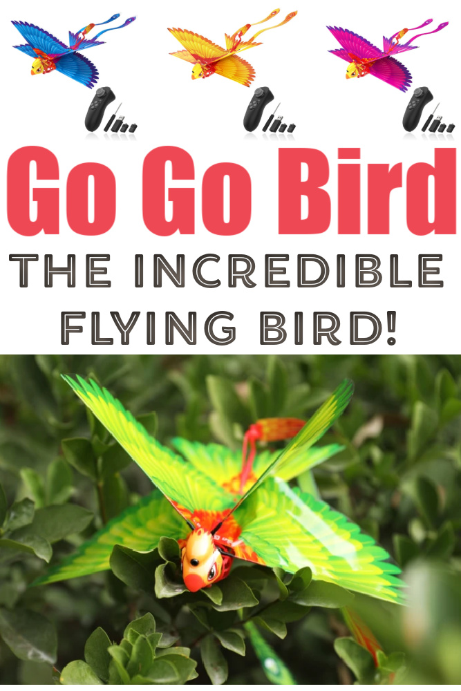 Go Go Bird: Remote Control Bird Review (+ Giveaway!)