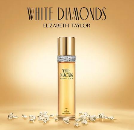 Elizabeth Taylor White Diamonds Eau de Toilette Spray Naturel