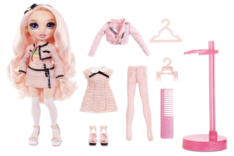 Rainbow Surprise High Bella Parker – Pink Fashion Doll