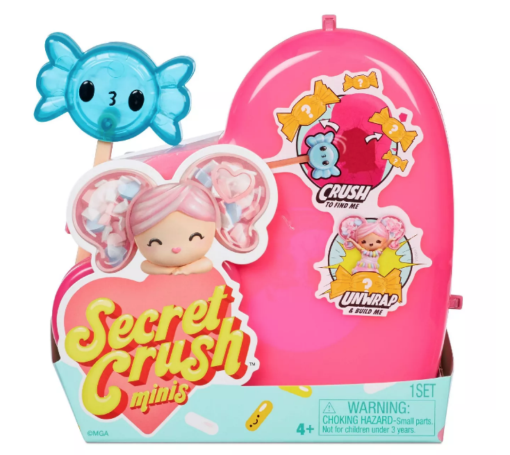 Secret Crush Minis Series 2 – Crush to Unbox Sweet-Themed Mini Doll