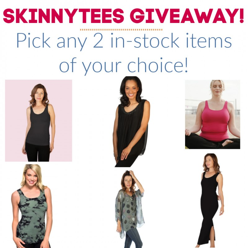 Skinnytees -- Great Clothes For A New Year & New You! GIVEAWAY