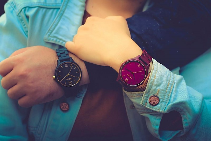 svenn wooden engraved watches for him and her
