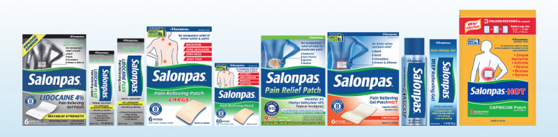 Salonpas Line Of Topical OTC Pain Relief Products ($150+ Giveaway)