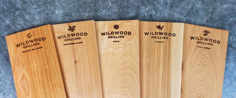 Wood Smoke, All-Natural Wood Plank, Alder, Cedar, Maple, Hickory, Cherry