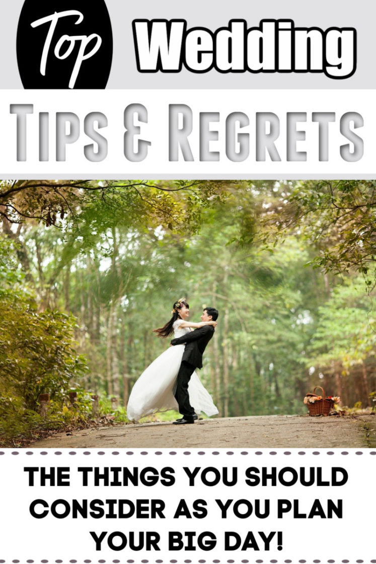 Wedding Tips - Things Many People Wish They Could Change About Their Wedding