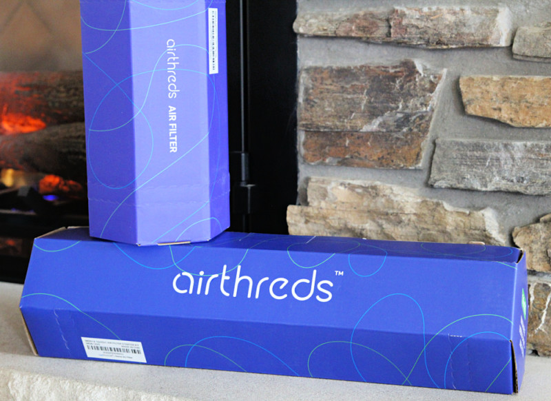 AirThreds Machine Washable Furnace Air Filter Review + Giveaway!