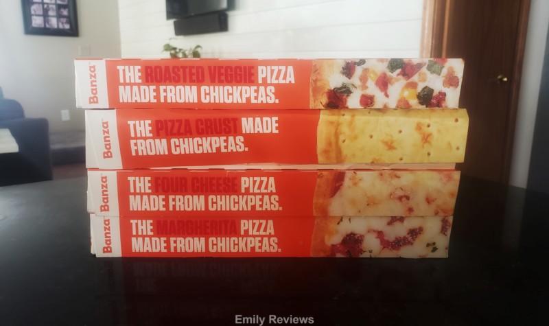 Banza, High-Protein, High-Fiber, Gluten-Free, Pizza, Pasta, Family Meal