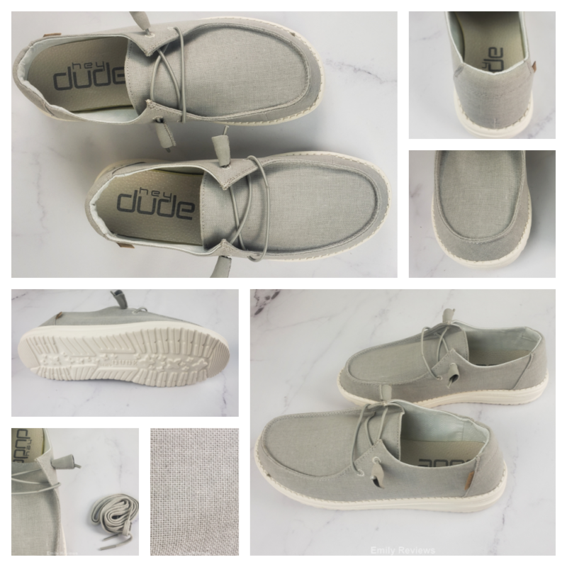 Hey Dude Shoes USA, Women's ShSoes, Women's Fashion, Slip-On Shoes, Wendy Chambray Shoes