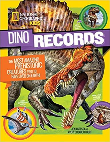 DinoRecords dinosaur book