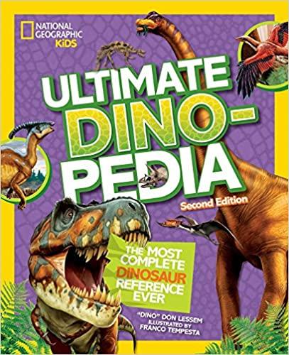 Nat geo kids ultimate dinopedia