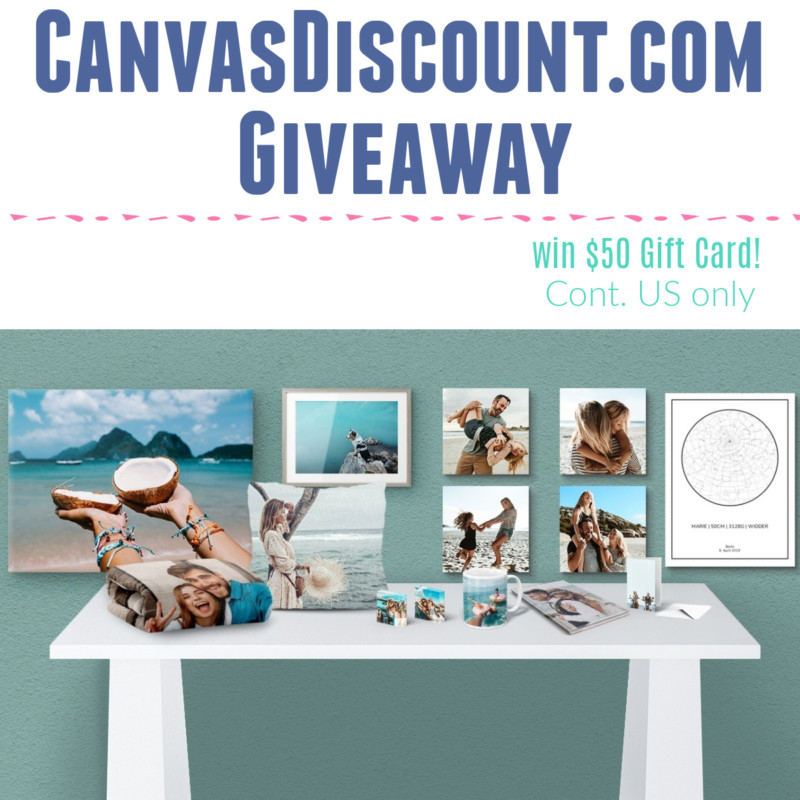 CanvasDiscount.com Review, Discount, & Giveaway