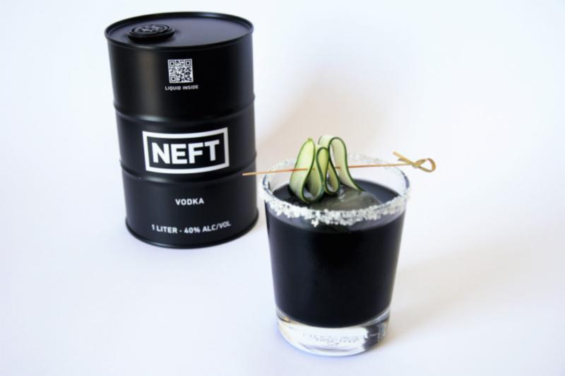 Neft black gold cocktail