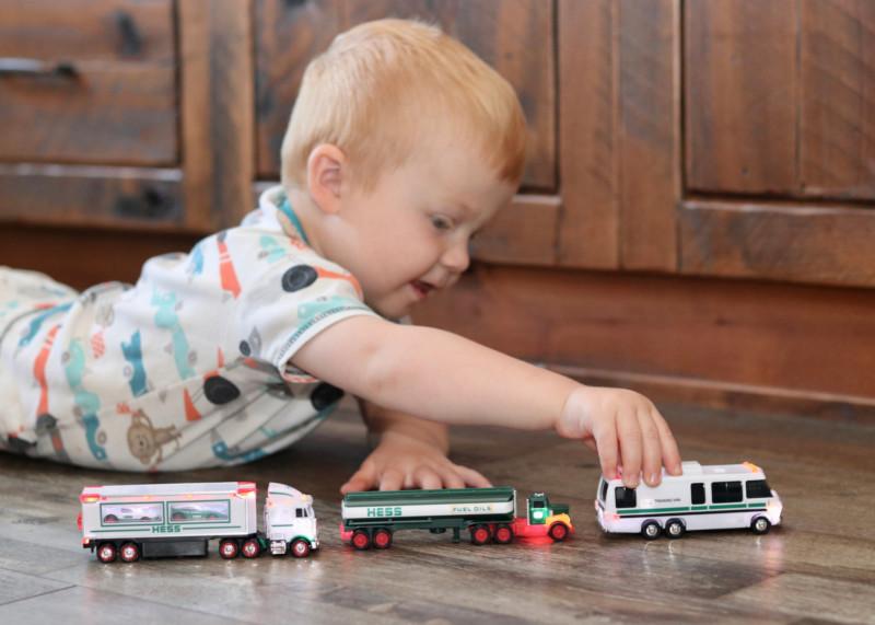2021 Hess Mini Toy Trucks