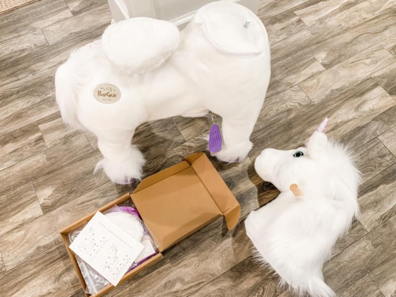 PonyCycle Unicorn Model K Review- My Daughter's Unicorn Dream Come True!