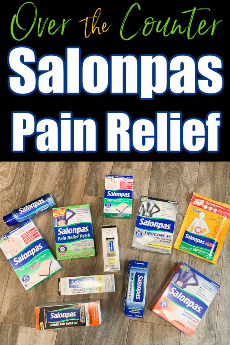 Salonpas Over The Counter Pain Relief (Rolls out Site for Medical Professionals) + Giveaway!