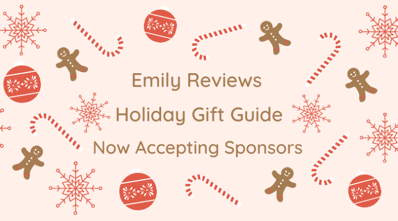 Blog holiday gift guide accepting sponsors