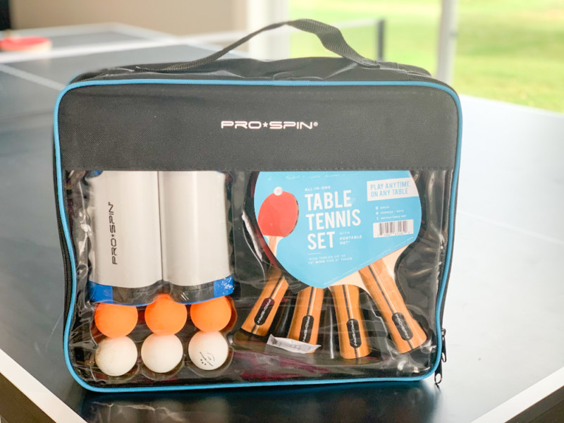 Pro Spin: 4-Player All-in-One Portable Table Tennis Set + Giveaway