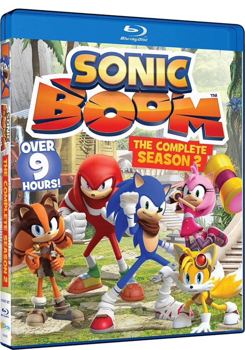Brand New Season 2 of Sonic Boom on Blu-Ray + Sonic Colors Ultimate Nintendo Switch Game *GIVEAWAY*