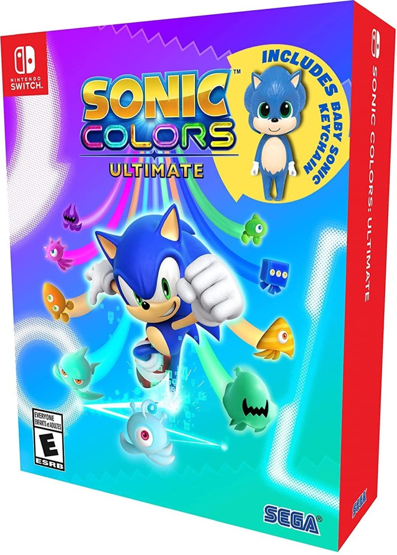 Sonic Colors Ultimate Nintendo Switch Game