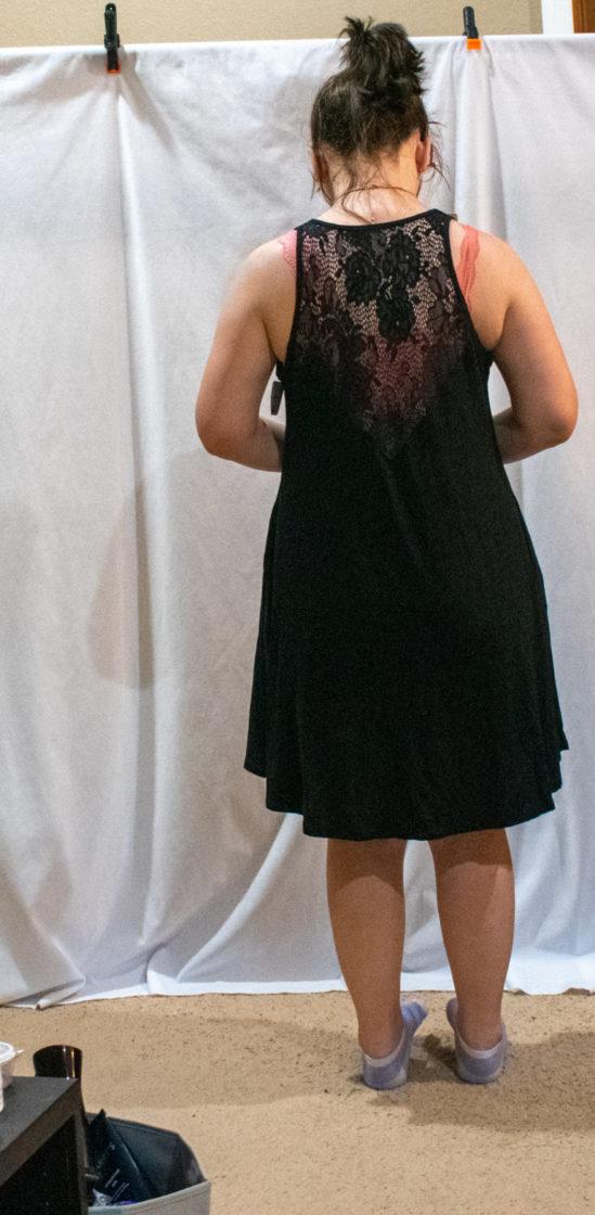 August nadine west dress