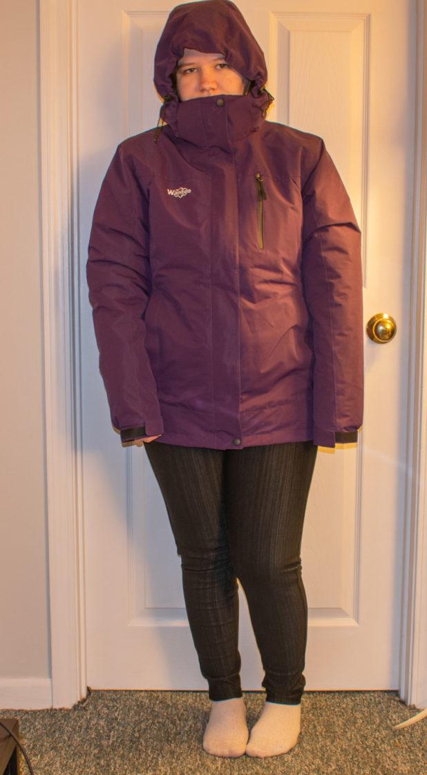 Wantdo waterproof ski coat review